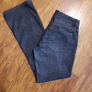Ann Taylor Loft women's jeans size 28 6 curvy boot